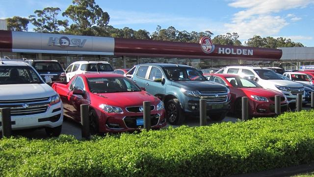 Holdenのディーラー