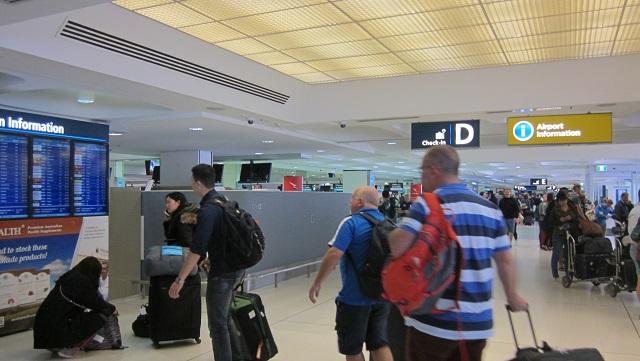 Sydney Airport Departtures
