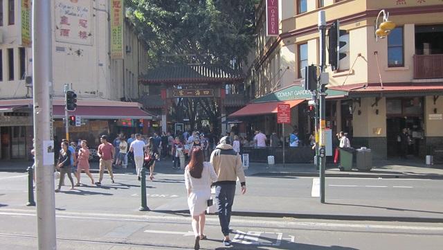 中華街赤門