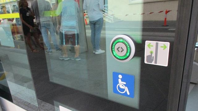 Light Rail Door Button