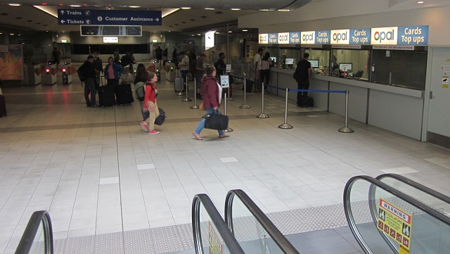 Airport Station Opal Counter