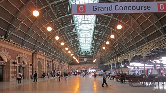 セントラル駅コンコース
