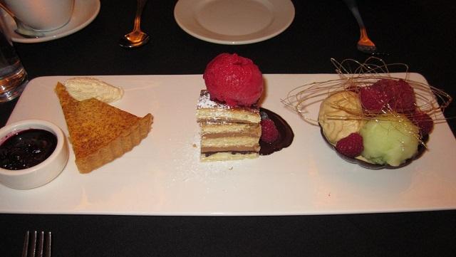 モダンオーストラリア料理コースのデザート
