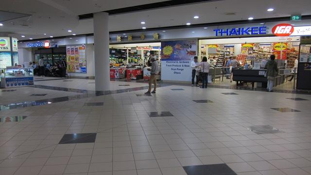 アジア食品のスーパーマーケットTHAIKEE