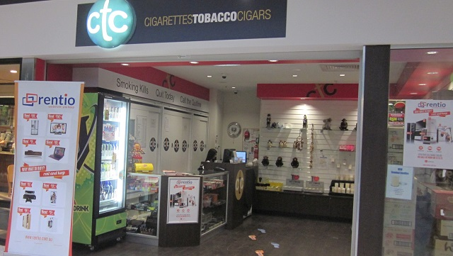 Tobacconist (たばこ屋)