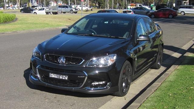 Holden Commodore コモドアのスポーツモデルSS