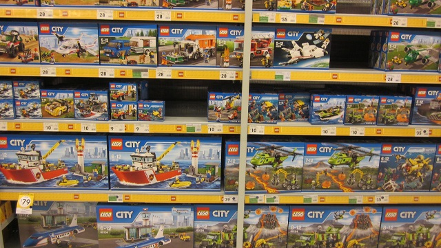 K-mart LEGO section