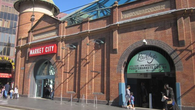 Paddy's Market located on the ground floor of Market City