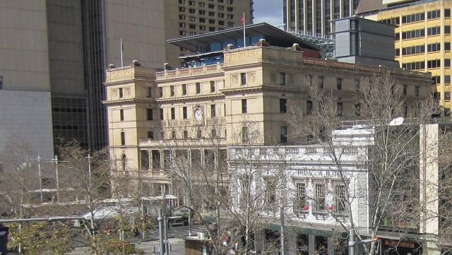 最上階のペントハウス部分がCafe Sydney