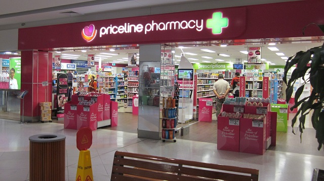 ディスカウント薬局 Priceline Pharmacy