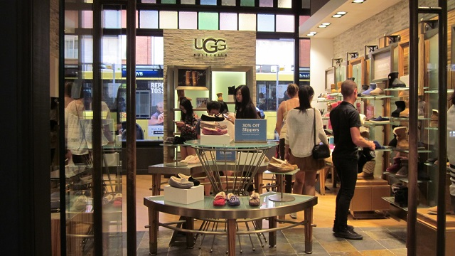 UGGのシドニーQVB店