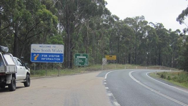 オーストラリア州境