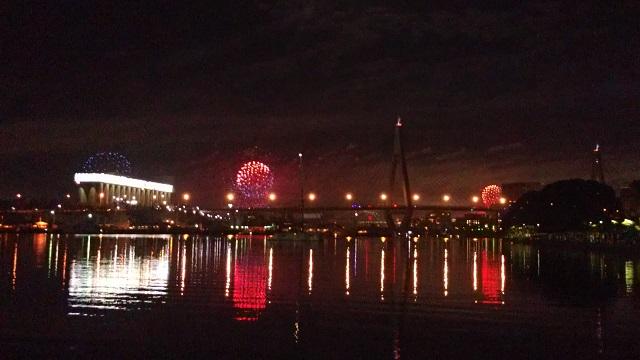 シドニー年末年始の花火