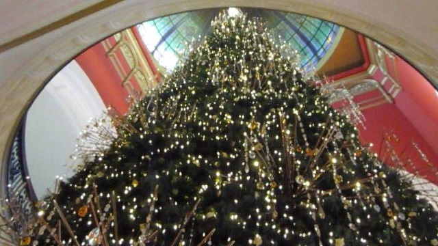 QVB Swarovski Christmas Tree