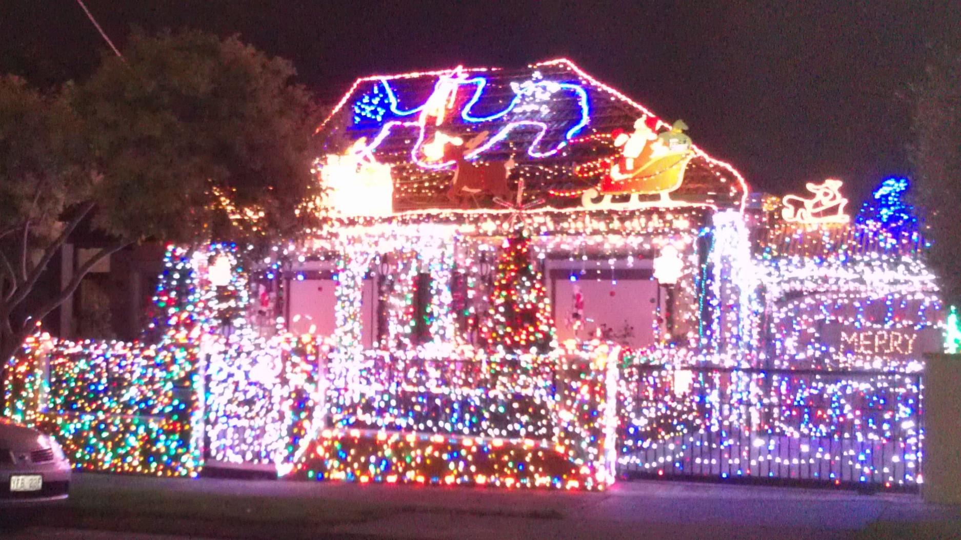 シドニーのクリスマスイルミネーション