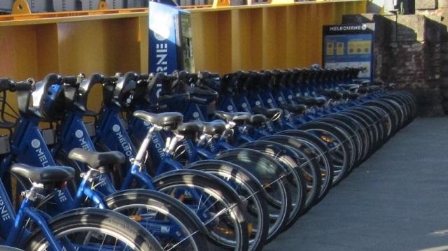 メルボルン 貸自転車 レンタルサイクル