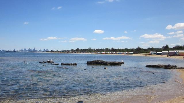 ブライトンビーチ 小屋 ビーチハウス