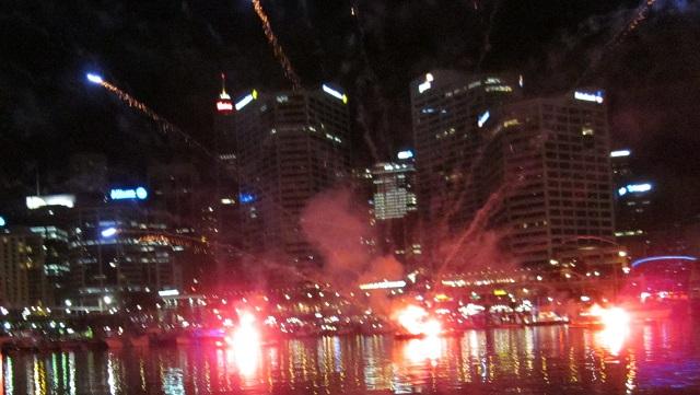 Cockle Bay Fireworks