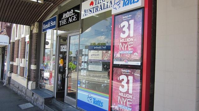 メルボルン オーストラリア ニュースエージェント