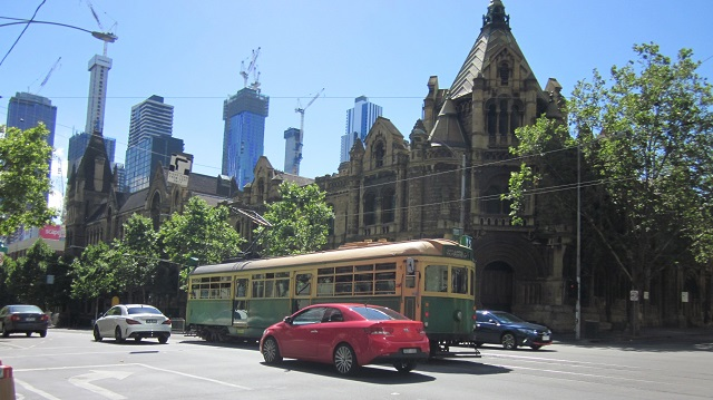 Melbourne CBD Tram