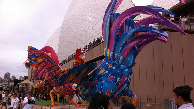 Chinese New Year Opera House Circular Quay