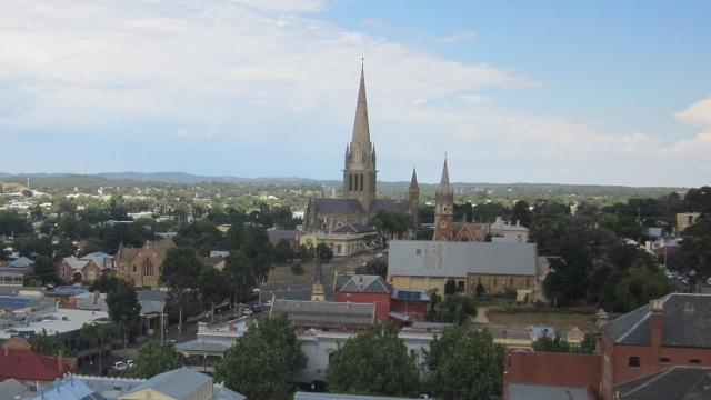 Bendigo 大聖堂 ビクトリア州