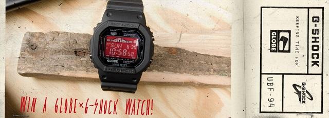 G-ShockとGlobeのコラボ
