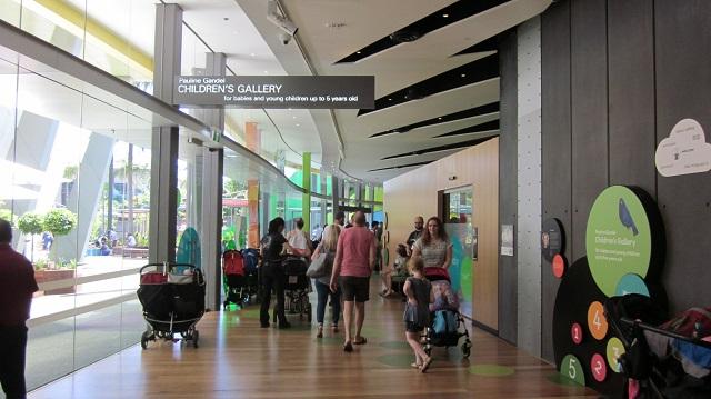 メルボルン博物館 遊び場