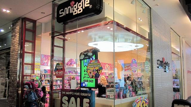 スミグル 店舗 オーストラリア Smiggle