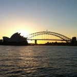 Sydney Harbour Sunset 夕日 シドニー湾