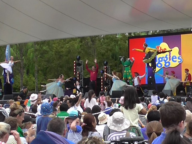 The Wiggles ステージ