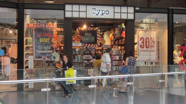 Typo タイポ オーストラリア