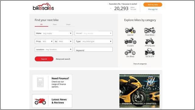オーストラリア バイク 売買 サイト インターネット