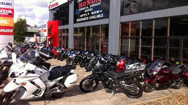 オーストラリア バイク ショップ ディーラー