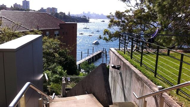 ビーチ シドニー ダブルベイ シドニー湾