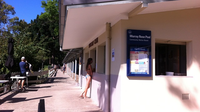 Murray Rose Pool シドニー ビーチ ダブルベイ