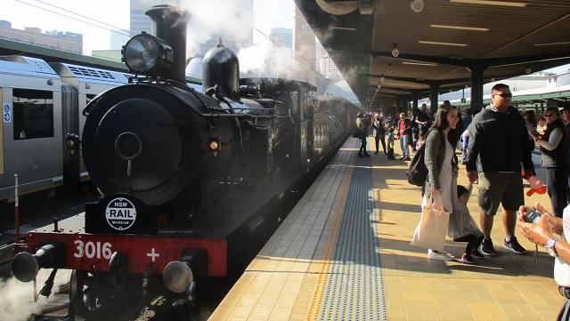 オーストラリアの蒸気機関車