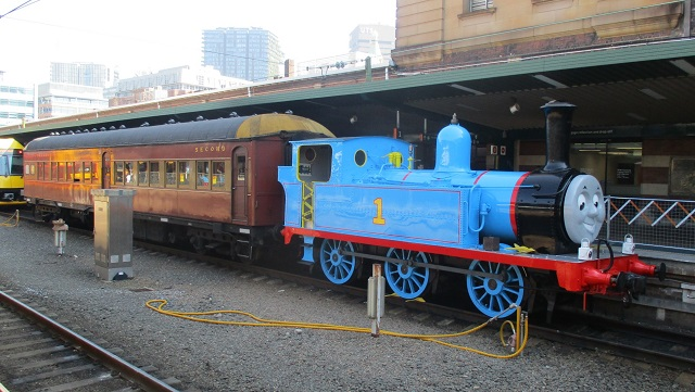 シドニー 蒸気機関車