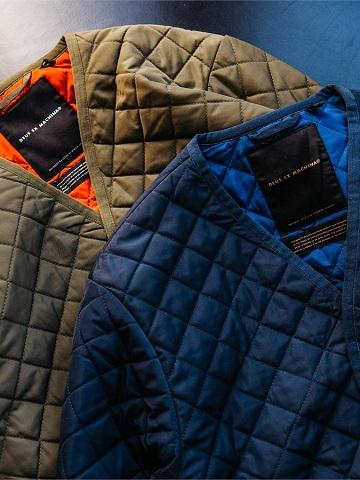 デウスエクスマキナのキルトジャケット