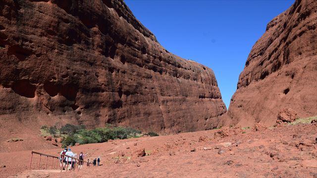 Walpa Gorgeの登山道