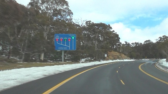 Kosciuszko Road National Park entry