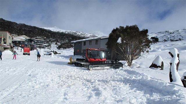 オーストラリアのスキー場シャーロットパス