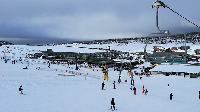 Snowy Mountains Ski Resort Pericher