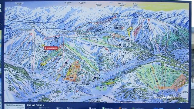 オーストラリア最大スキー場 地図