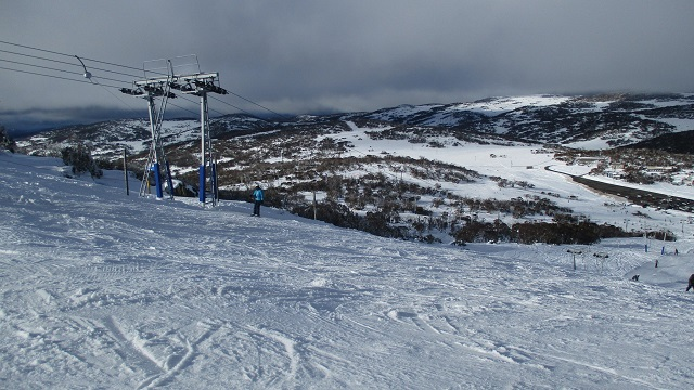 スノーウィー・マウンテンズのスキー場リフト